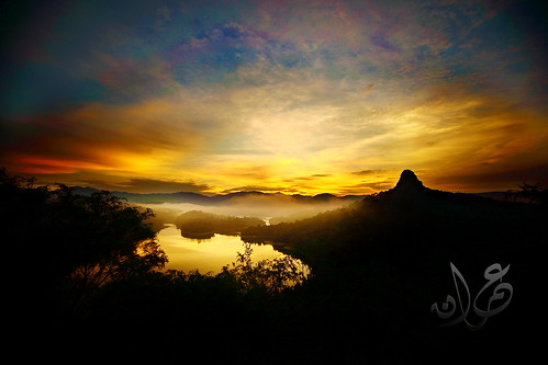 Tabur Hill during golden hour