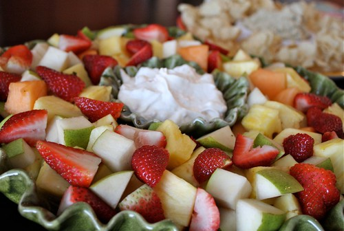 Easy Yogurt Fruit Dip - serve this with fresh fruit at your next get together!