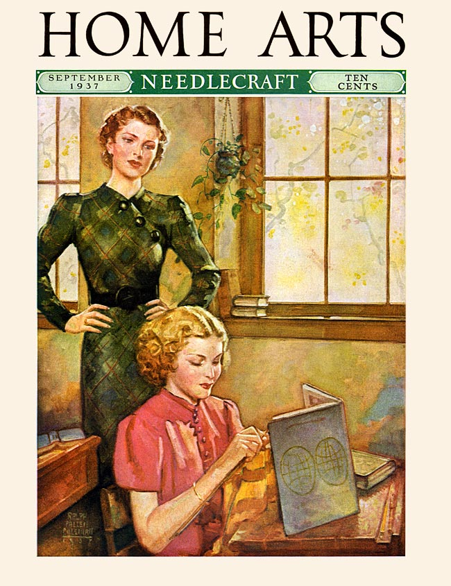 Home Arts cover, Sept. 1937