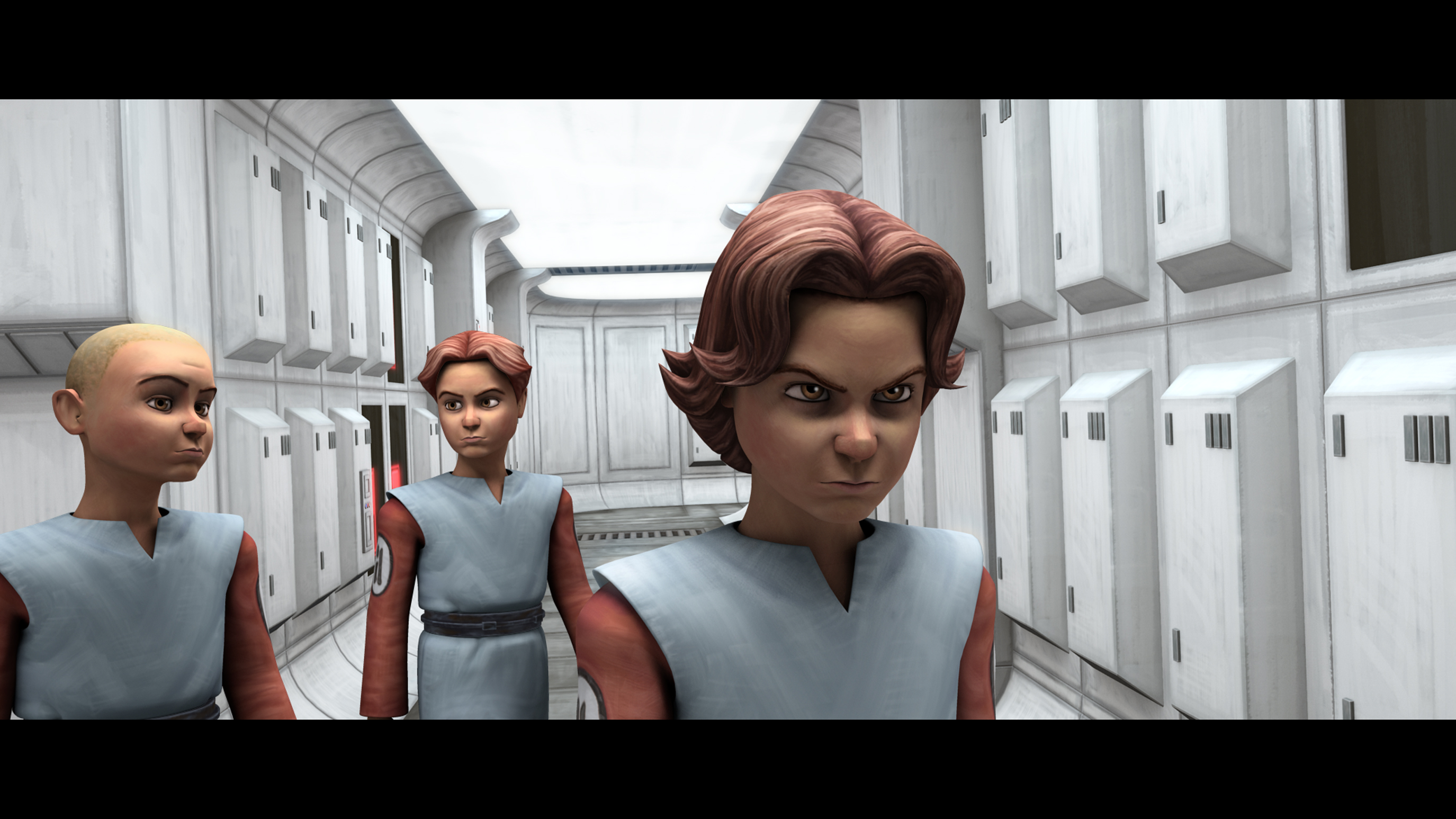 "Boba Fett sets his plan into motion by posing as a young clone cadet in ""Death Trap,"" an all-new episode of STAR WARS: THE CLONE WARS premiering at 9:00 p.m. ET/PT Friday, April 16 on Cartoon Network. TM & © 2010 Lucasfilm Ltd. All rights reserved."