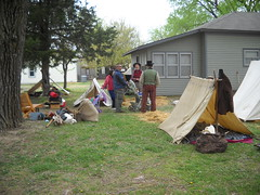 Confederate camp (99kps) Tags: war weekend civil wichita cowtown