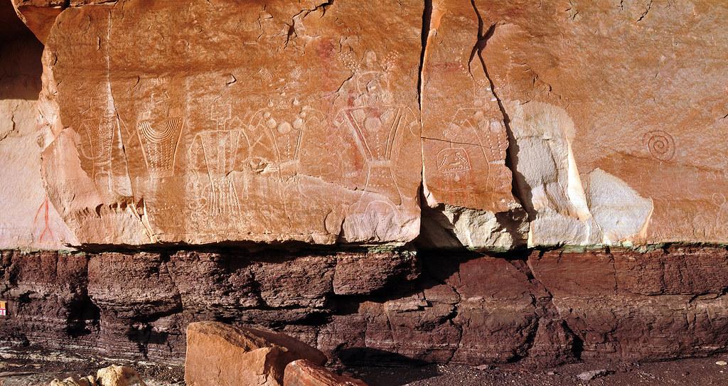 petroglyph dry fork canyon shot 2 pano