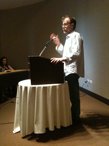 George Saunders, Writers Festival, Northwestern University