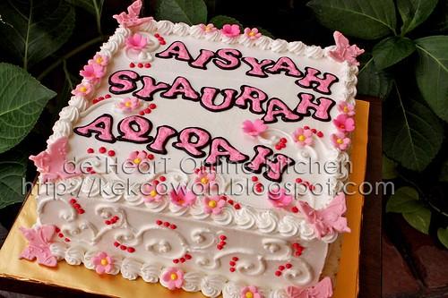 Cake Pink White