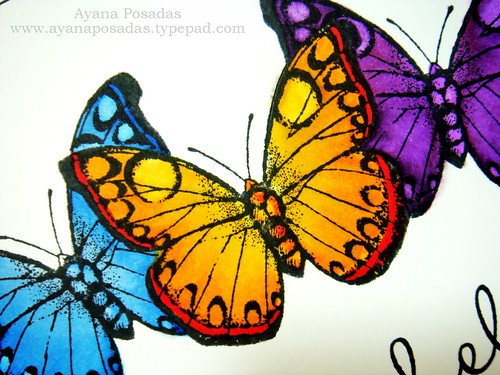 Copic Butterflies (3)