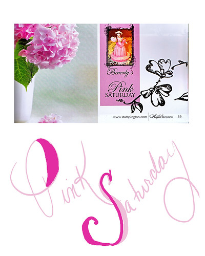 artful bloggin pink saturday two