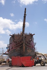 Black Pearl (9) (jakesmome) Tags: harbor ship pirate drydock piratesofthecaribbean barbers pirateship blackpearl theblackpearl kalaeloa