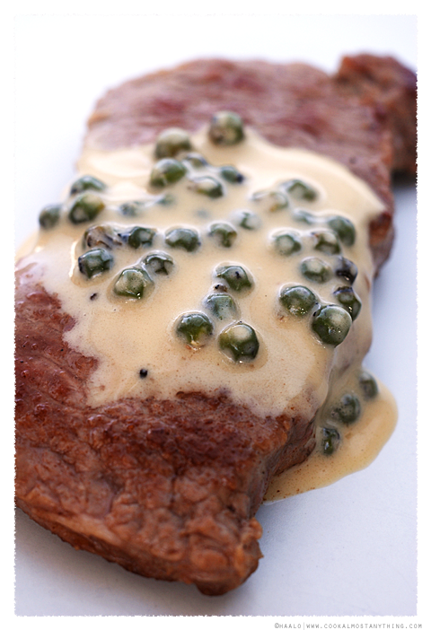 Fresh Green Peppercorn Sauce© by Haalo