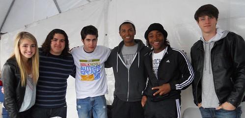 Katelyn, Matthew, Brandon, Eli, Leon & Shane