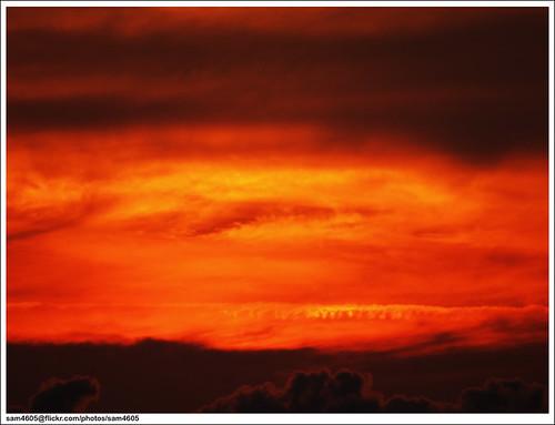 lanskap langit petang a photo on flickriver