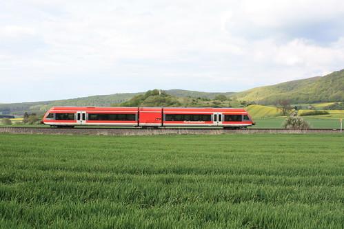 Regionalexpress bei Zierenberg