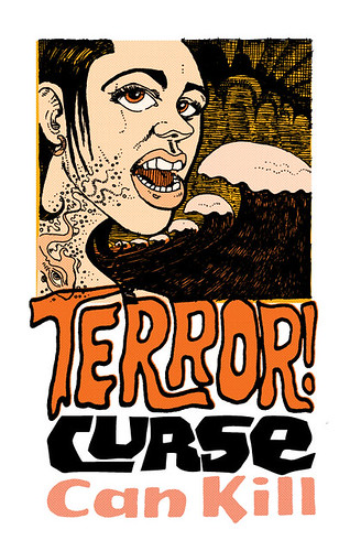 Curse Terror Kill Graphic