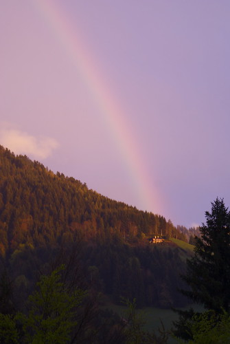 The house at the end of the rainbow