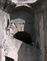 Colosseum Interior Construction