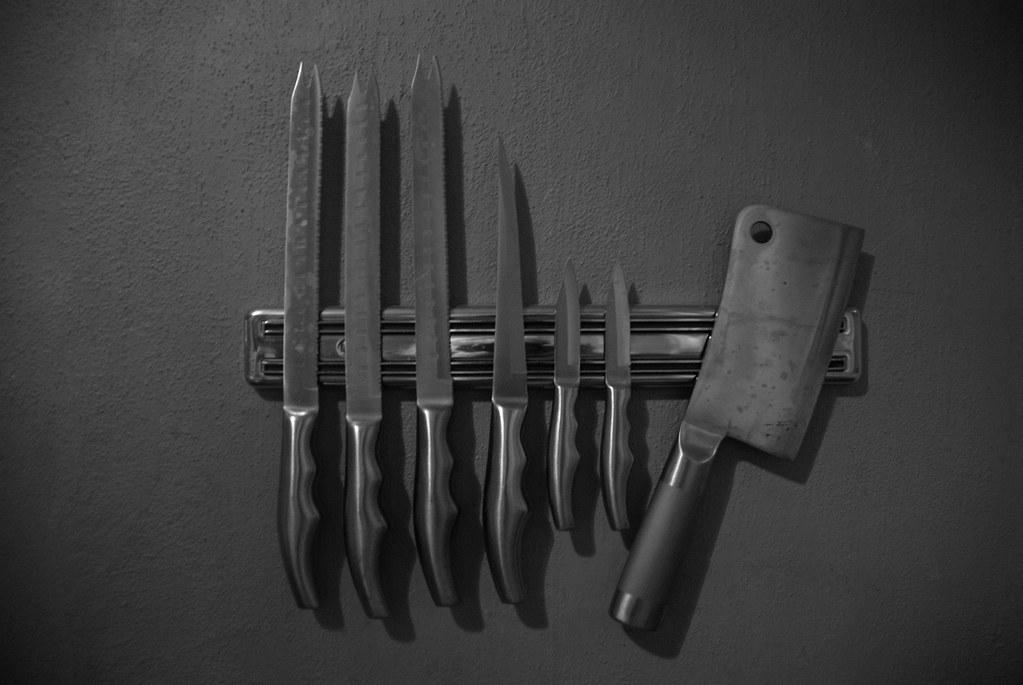 Pretty Blades All in a Row