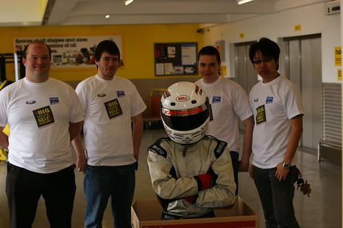 Big Yellow Edinburgh Sponsors Heriot Watt Motorsports Society