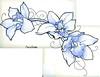 Orchid flash tattoo (TURKESA (old profile)) Tags: orchid flower tattoo drawing flash saturno turkesa rabodiga saturnoags