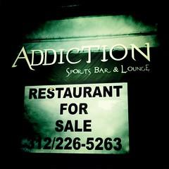 Addiction for sale