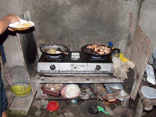 Bali 2010 - Eten bij Sinta