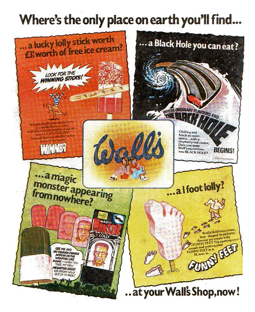 Walls Ice Lollies Ad 1980
