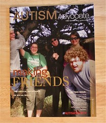 CIP students on Autism Advocate cover