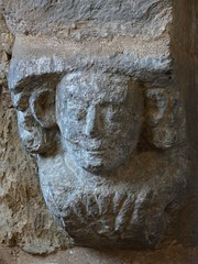 Corbel head - Upper Boddington