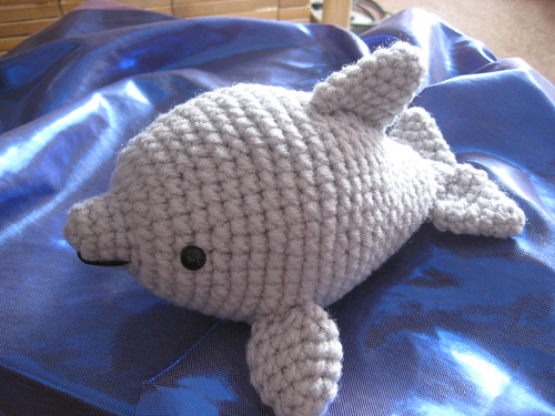 Crochet Amigurumi Dolphin Pattern : Dolphin Amigurumi *splash splash* Awkward Soul Designs
