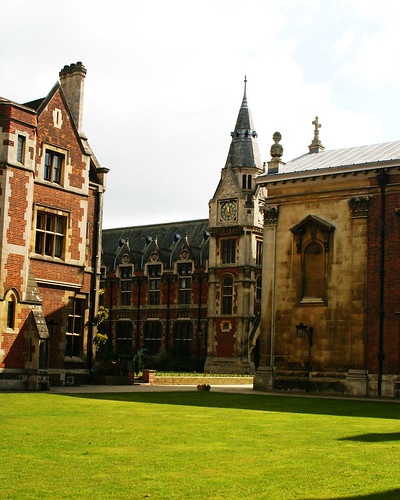 Cambridge courtyard