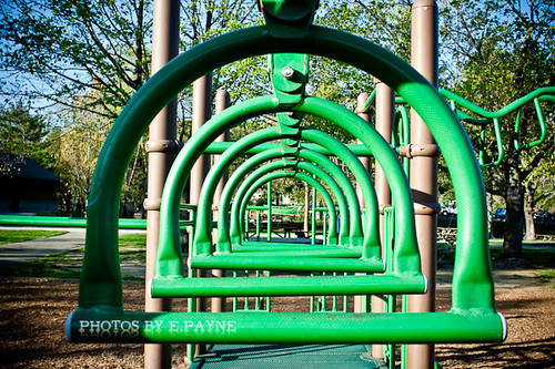 Playground Rungs aka Monkey Bars
