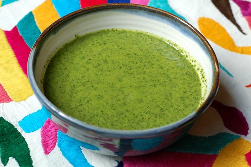 Chimichurri Sauce by Eve Fox, Garden of Eating blog