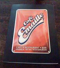 Speisekarte - Café Emaille