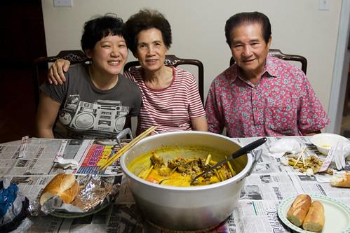 Me + Kathy's grandparents