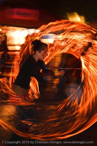 Sanja Vatra Poi Fireshow