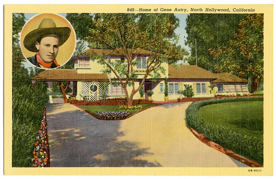 Gene Autry post card_ft_tatteredandlost