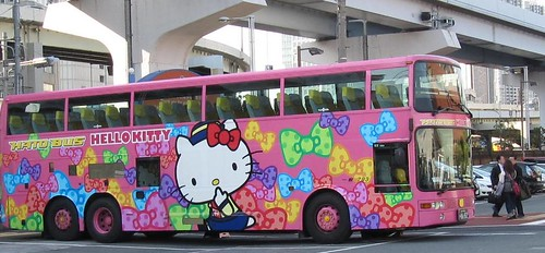 Hello Kitty Bus Japan
