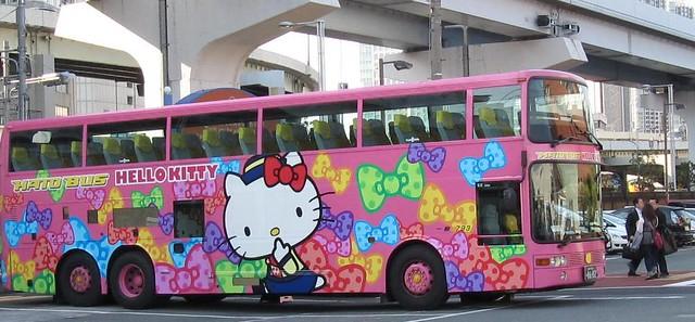 Hello Kitty Bus Japan