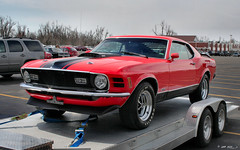 1970 Ford Mustang Mach I - red - fvl