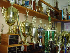 Sport Trophies - schools Jamaica (bbcworldservice) Tags: world school girls boys field athletics downtown track stadium assignment champs christopher coke lord kingston national bbc jamaica drug service athletes 2010 dudus