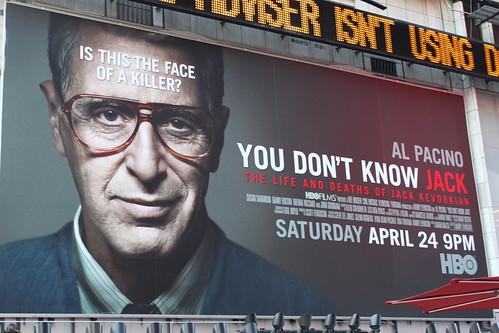 Jack Kevorkian film billboard