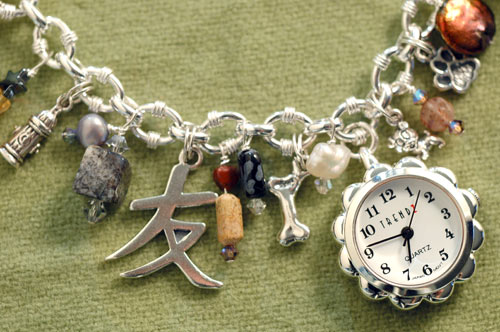 Must Love Dogs charm timepiece