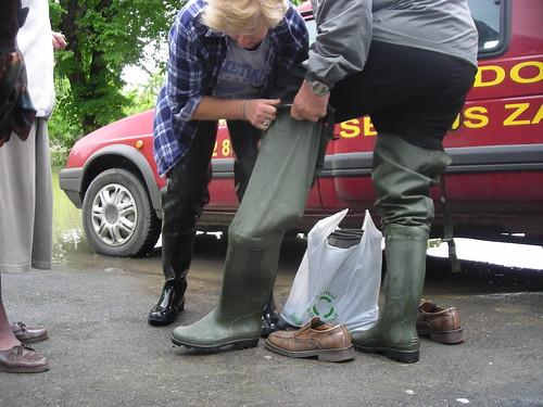 5 Zakole Wisly po powodzi