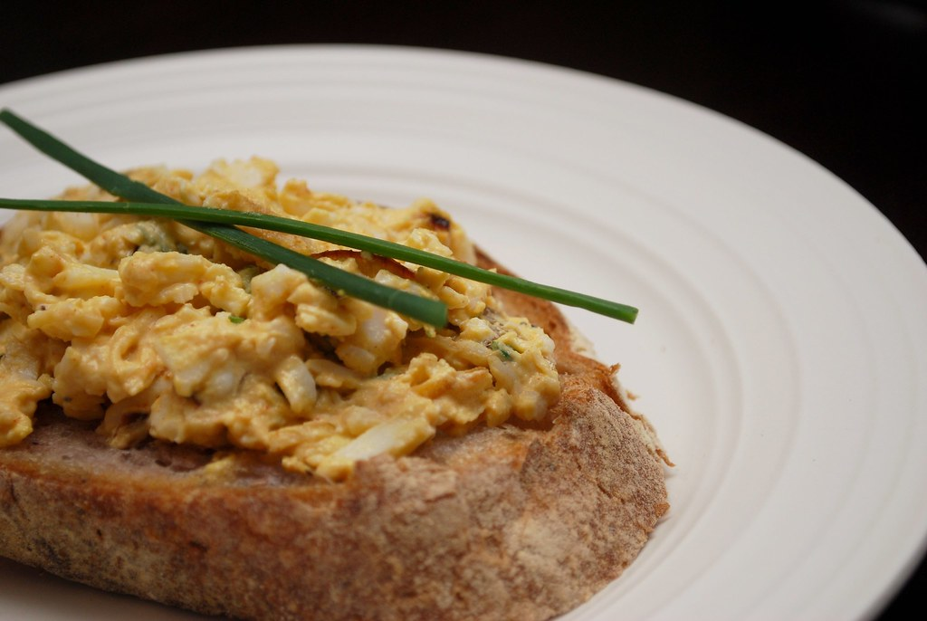 Bagged Lunch Ideas: Egg Salad w/ Caramelized Shallots & Chives ...