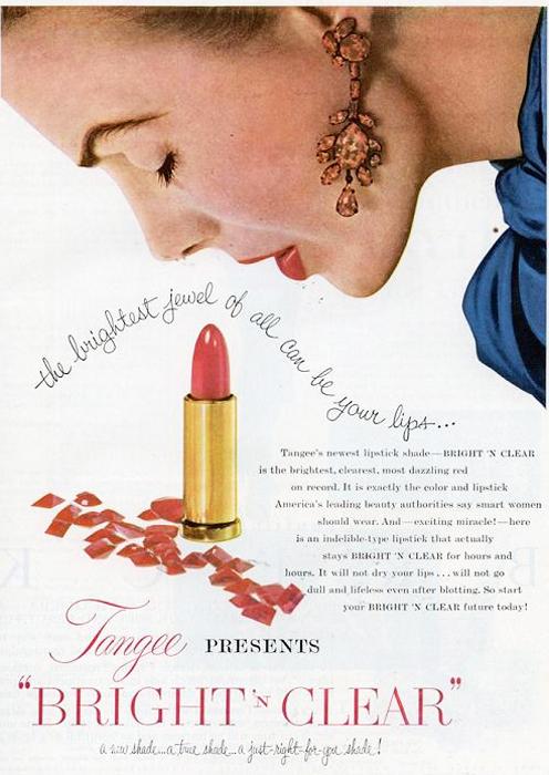 Vintage Lipstick Ad