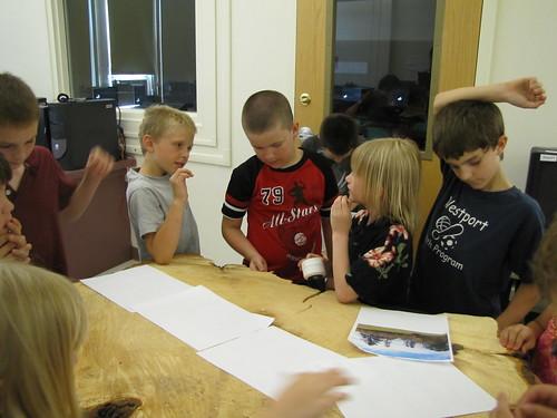 Elizabeth's science project