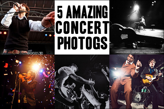 5 (More) Amazing Concert Photographers