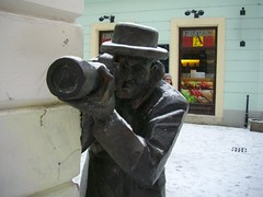 the camera man2 (margettina) Tags: art architecture slovakia bratislava