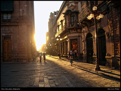 Viva Mxico! (Demodragon) Tags: old city sunset mxico buildings hp colonial ciudad sanluis sanluispotos