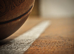 The Line Has Been Drawn (Jay Cassario) Tags: summer orange sports basketball yellow ball 50mm newjersey nikon shot random stripe nj games line indoors nikkor f18 southjersey foul indoorsports 50mm18 50mmf18 foulline atheletics foulshot d5000 d5k nikond5000