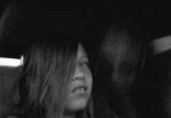 Evil Spirit on Cellphone Photo