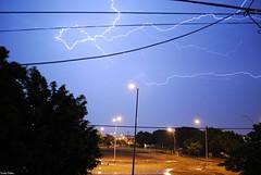 Ride the Lightning. (Orcoo) Tags: mexico cielo metallica nuevoleon tormenta rayo monterrey picnik relampago ridethelightning cazandorayos